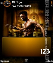 X-men Wolverine theme screenshot