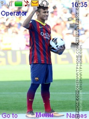 Neymar Barcelona Theme-Screenshot