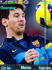 Messi Theme-Screenshot