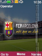 Barca Theme Theme-Screenshot