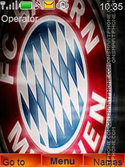 FC Bayern Munich theme screenshot