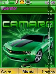 Chevrolet Camaro Carros theme screenshot