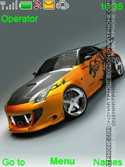 Nissan Carros theme screenshot