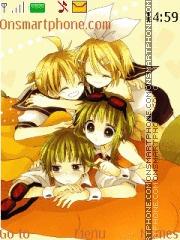 Gumi, gumiya len y rin theme screenshot