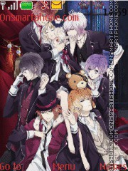Diabolik Lovers theme screenshot