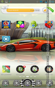 Racing 02 theme screenshot