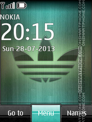 Adidas Logo 03 theme screenshot