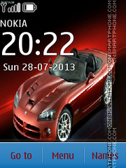 Dodge Viper 14 theme screenshot