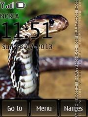 Cobra Snake theme screenshot