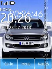 Volkswagen Amarok - Pickup theme screenshot
