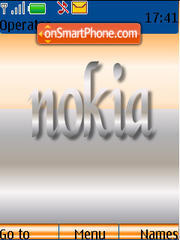 Nokia 05 Tone theme screenshot