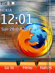 FireFox 17 theme screenshot