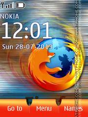 Capture d'écran FireFox 17 thème