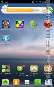 G_Rule theme screenshot