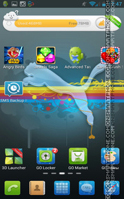 Puma 3265 theme screenshot