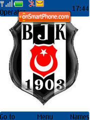 Bjk theme screenshot