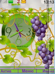 The grapes theme screenshot