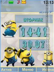 Minions theme screenshot
