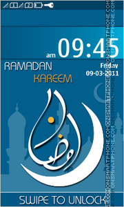 Ramadan Kareem 02 theme screenshot