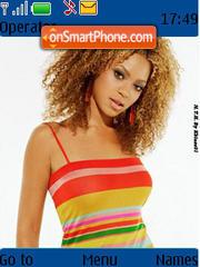 Beyonce Knowles 06 es el tema de pantalla