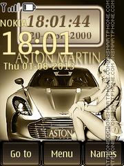 Aston Martin V12 AML theme screenshot