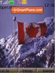Canada tema screenshot