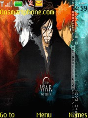 Bleach Ichigo tema screenshot