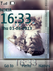 Kittens Flash Theme es el tema de pantalla