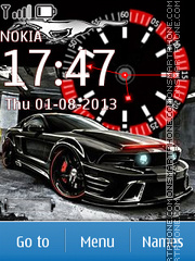 Car tema screenshot