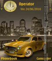 New York Taxi tema screenshot