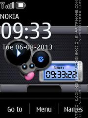 Capture d'écran Music Mouse thème