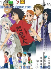 Anohana theme screenshot