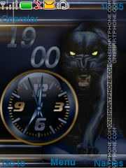 Panther theme screenshot
