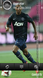 Ashley Young theme screenshot