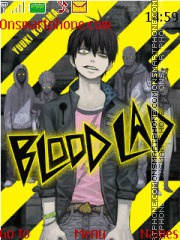 Blood Lad theme screenshot