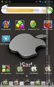 iSad 01 tema screenshot