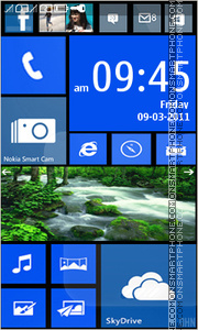 Nokia Lumia 921 theme screenshot