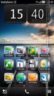 New Dawn Sea theme screenshot