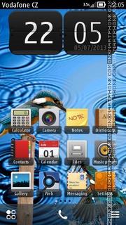 First Rain theme screenshot
