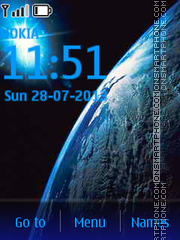 Cold_Space tema screenshot