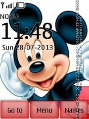 Скриншот темы Mickey With Ringtone
