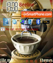 Cappucino tema screenshot