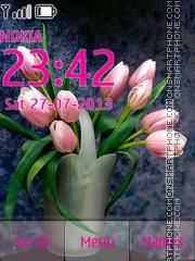 Spring Flowers 13 es el tema de pantalla