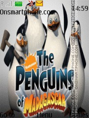 Pinguins Of Madagascar tema screenshot