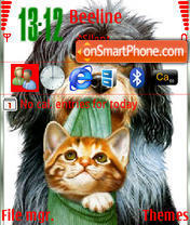 Cat And Dog es el tema de pantalla