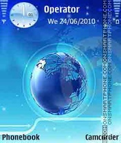 World Web tema screenshot