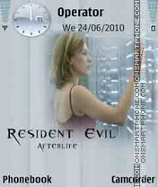 Resident Evil theme screenshot