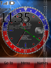 Exclusive Rolex theme screenshot