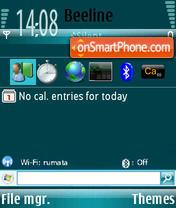 Скриншот темы WM 6 Edit