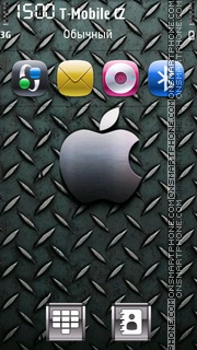 Apple Grey es el tema de pantalla